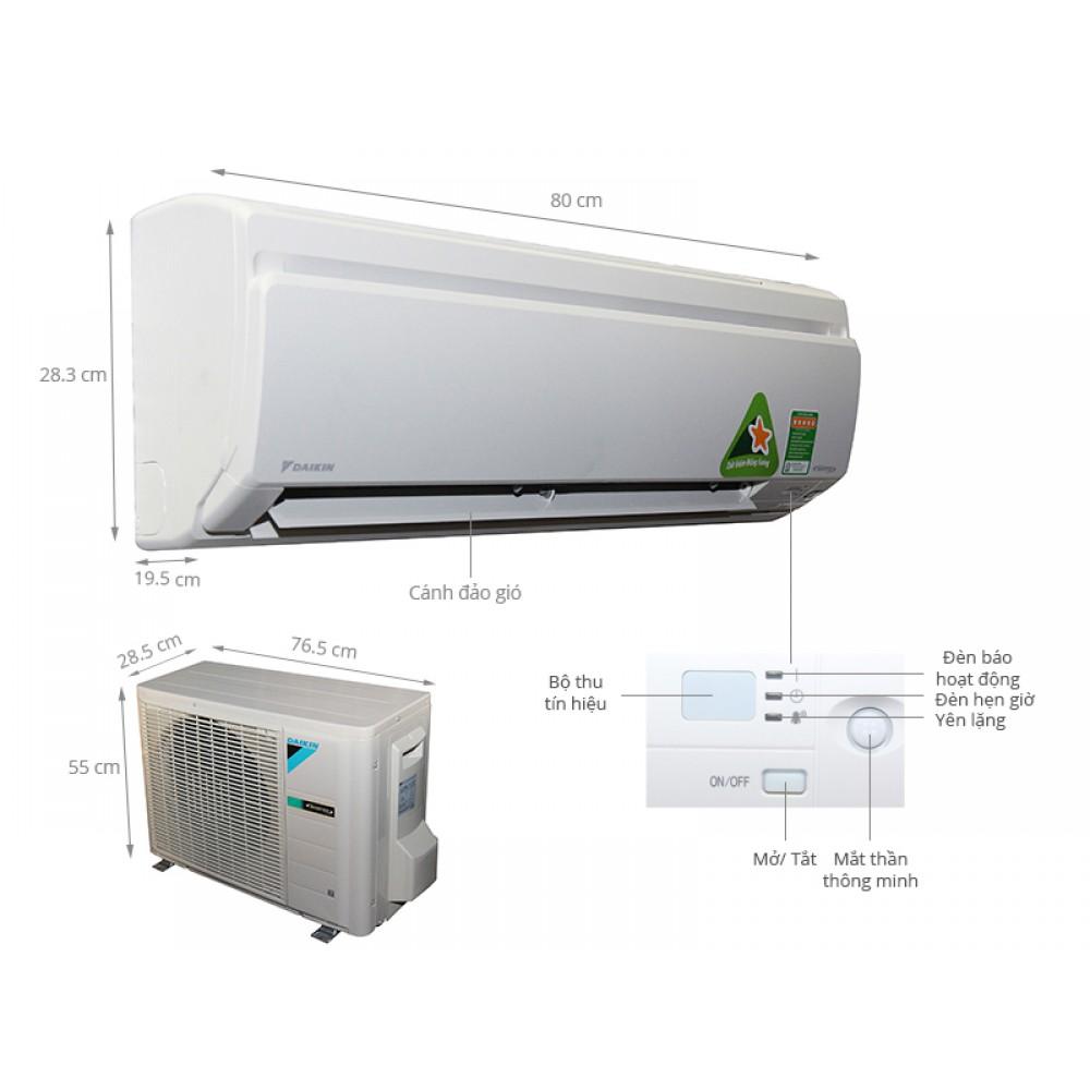 Máy lạnh Daikin FTKS25GVMV